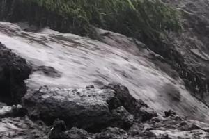 WATCH| Video of damage caused by landslide in North Leitrim
