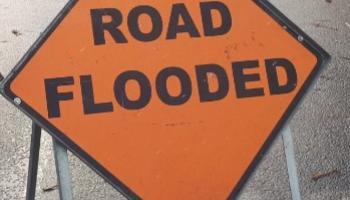 Sligo roads closed because of flooding this morning