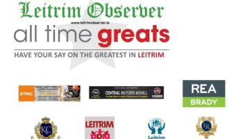 And Leitrim's All Time Great is.......