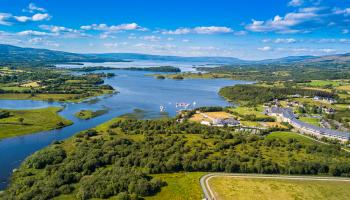 Photographer, Mark Kelly, has taken stunning aerial images of Lough Allen and the surrounding area