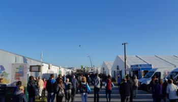 GALLERY: Thousands already on site at the Ploughing in Carlow as the sun shines
