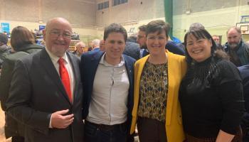 Sinn Féin sweep up the vote around the region
