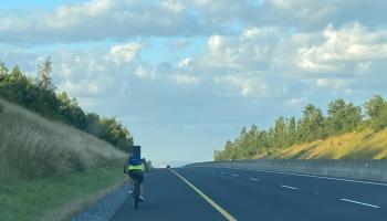 Kilkenny Roads Policing Unit take cyclist off busy motorway