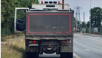 Danger averted! Truck stopped by gardaí has loose nuts on a wheel
