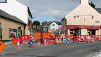End date for Carrick-on-Shannon roadworks