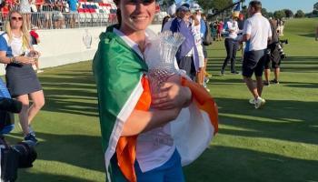 Cavan homecoming planned for Solheim Cup hero Leona Maguire