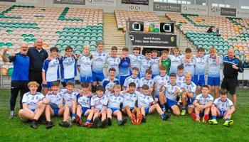 St Mary's Kiltoghert celebrat after pipping Fenagh St Caillin's in dramatic fashion - GALLERY