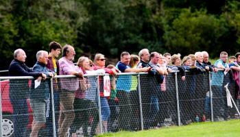 Fans photos from Glencar Manorhamilton and St Francs Gotham Dry Wall LGFA SFC clash - GALLERY