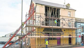 Main Street in Mohill reopens this morning