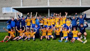 Glencar Manorhamilton fans celebrate victory over St Mary's Kiltoghert in U17 Final - GALLERY