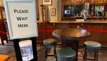 Drop in the number of pubs in Leitrim since the Pandemic
