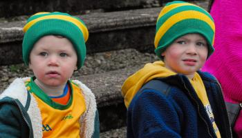 See who you can spot in our fans gallery from Connacht Gold Leitrim SFC Final between Ballinamore Sean O'Heslins & Mohill