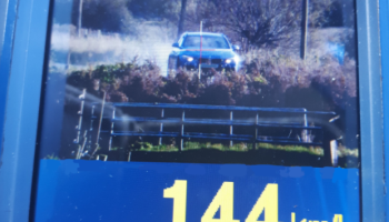 Gardai arrest person driving almost double the speed limit in 80km zone