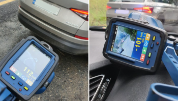 Waterford driver pulled over for speeding is caught AGAIN after departing traffic stop