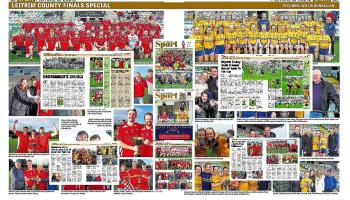 Celebrating Leitrim County Final success for St Patrick's Dromahair and Glencar Manorhamilton in special pullout