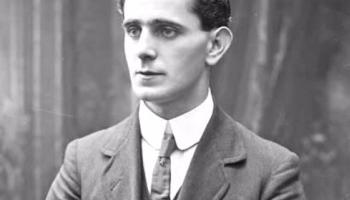 Brian O'Higgins tribute to Sean MacDiarmada in the GPO in 1916