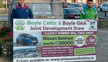 Boyle GAA & Soccer clubs overwhelmed by development draw success