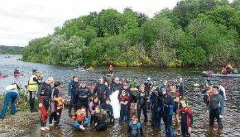 Get set for the 10th Great Swim, Fin and Snorkel