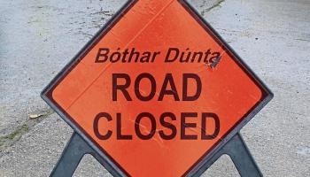 Temporary road closure in South Leitrim