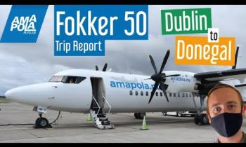 WATCH: A great insight into the flight from Dublin to the 'most scenic airport in the world'