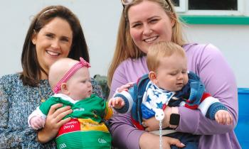 Fans enjoy the action as Drumkeerin hold off Aughavas