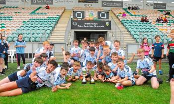 Allen Gaels celebrate U13 Division 1 Final victory over St Mary's - GALLERY