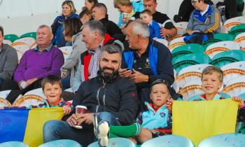 Ballinamore fans celebrate ending Glencar Manor hoodoo in Connacht Gold Leitrim SFC Quarter-Final - GALLERY