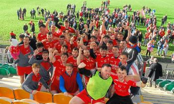 St Patrick's Dromahair celebrate Smith Monumentals IFC triumph over Ballinaglera - GALLERY
