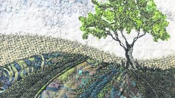 'Royal Woodlands' depicted through Irish textiles at Leitrim Design House