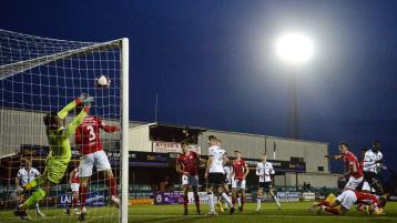 Dundalk fail to take advantage of extra man as they slip to their fourth loss of the season