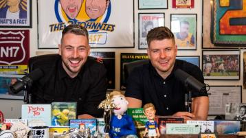 Spotify teams up with Tipperary comedy duo the Two Johnnies to bring their #1 podcast exclusively to Spotify