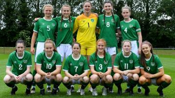 GALLERY: Leitrim's Devaney helps Ireland U19 Ladies to 3-0 win over Northern Ireland