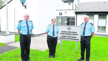 Farewell to Garda Maria Guihen who retires today