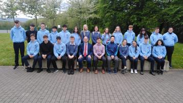 Ballinamore Community School newspaper awarded for content