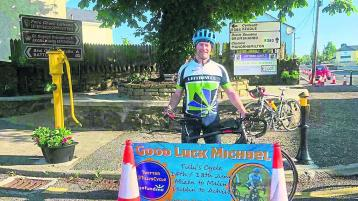 Leitrim Village man to cycle the length and breadth of the country for Down Syndrome Ireland