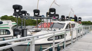 Look out for: Light installation to float down the River Shannon this week