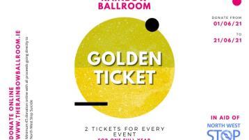 Win the The Rainbow Ballroom Golden Ticket