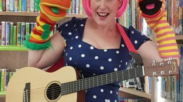 Calling all Leitrim children - Miss Pink presents 'The Big Sing Song'