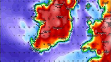 Temperatures to soar this weekend