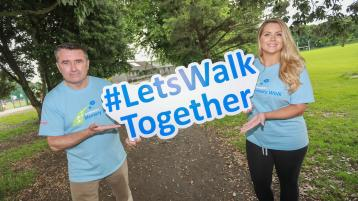 Call out to Leitrim people to join the Virtual Alzheimer's Memory Walk fundraiser