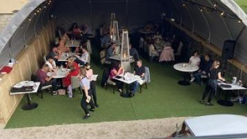 The Irish Times recommendation for outdoor dining in Leitrim