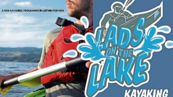 The popular Lads on the Lake Leitrim kayaking course is returning!