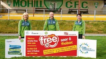 Mohill GAA Club achieves Healthy Club status