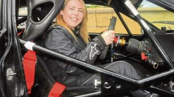 Colette loving life in the fast lane