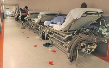 13 patients on trolleys in Sligo Hospital today