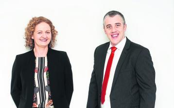 Sheila Moran and Declan McNamara of  taxation and accountancy practice Moran McNamara.