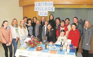 Members of Leitrim Village ICA and helpers  at a recent Cake Sale and Coffee Morning in St. Joseph's Centre .