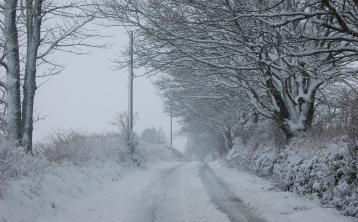 Winter Wonderland in Manorhamilton