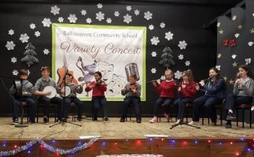 Ballinamore Community School to stage Christmas Variety Concert tonight & tomorrow