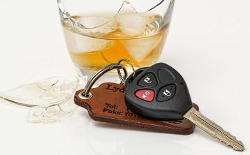 1 in 12 motorists involved in an incident/near miss due to alcohol